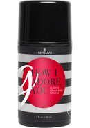 G How I Adore You G Spot Stimulant Cream For Her 1.7 Ounce