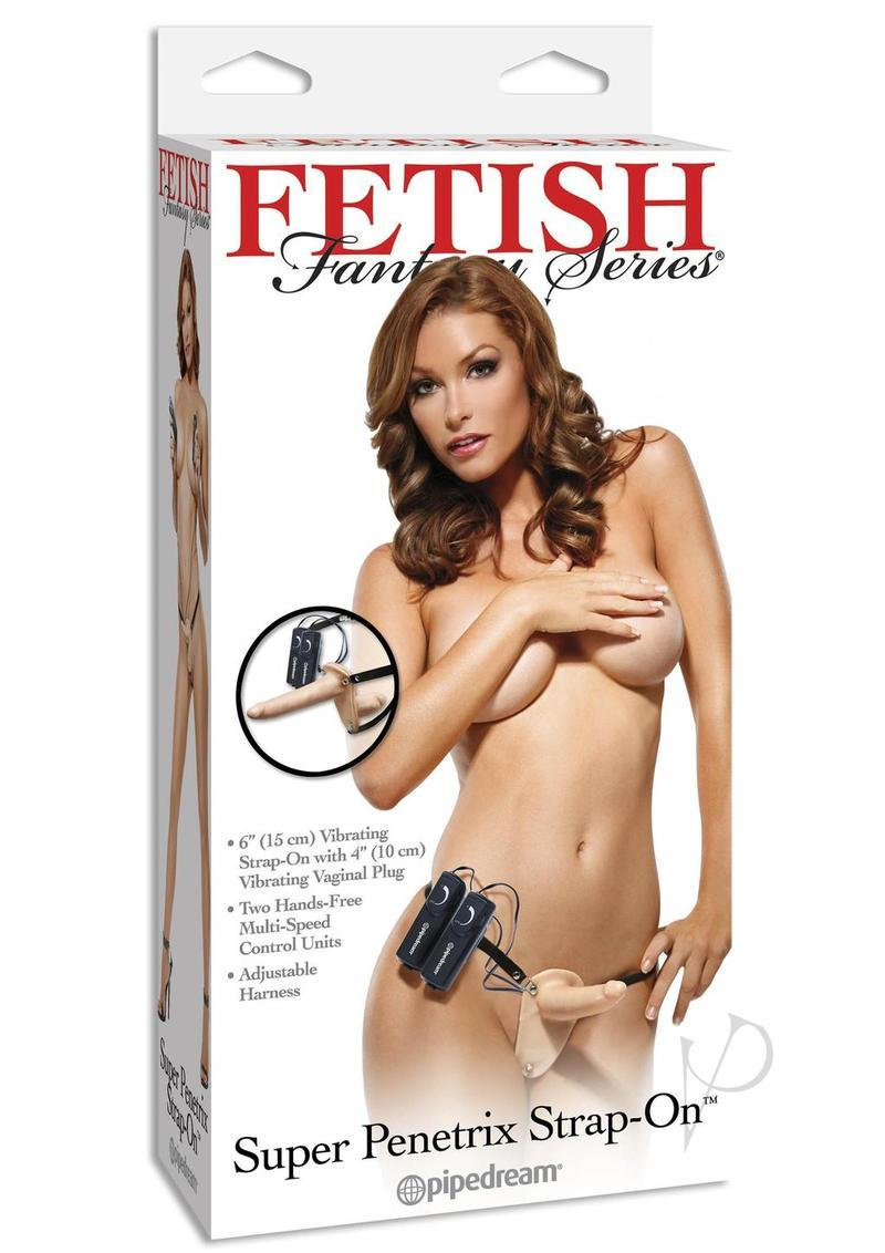 Fetish Fantasy Super Penetrix Strap On 6 Inch Flesh